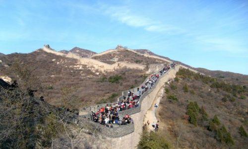 Zdjecie CHINY / Okolice Pekinu / Badaling / Mur chiński