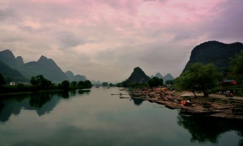 Zdjecie CHINY / - / Guilin / Góry