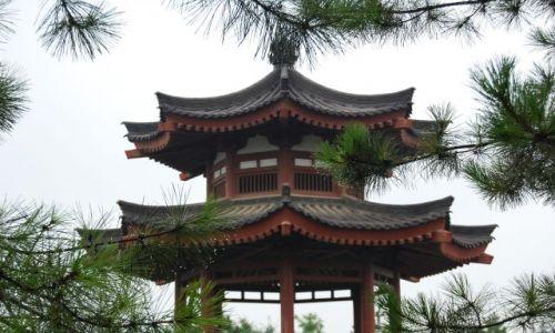 CHINY / Pekin / Wzgórze Węglowe / Chińska budowla