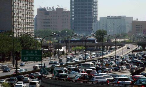 Zdjecie CHINY / brak / pekin / to się nazywa traffic