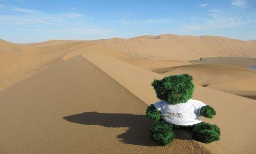 Zdjecie CHINY / Badain Jaran / Pustynia / Misio na pustyni