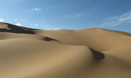 Zdjecie CHINY / Badain Jaran / pustynia / Wydmy