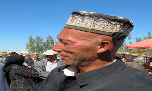 Zdjęcie CHINY / Kaszgar / Niedzielny Targ / Ujgur