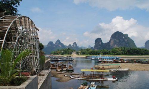 Zdjecie CHINY / - / yangshuo / nad rzeką Li