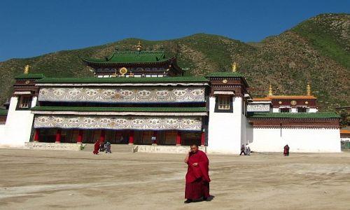 Zdjęcie CHINY / Xiahe / klasztor Labrang / klasztor Labrang