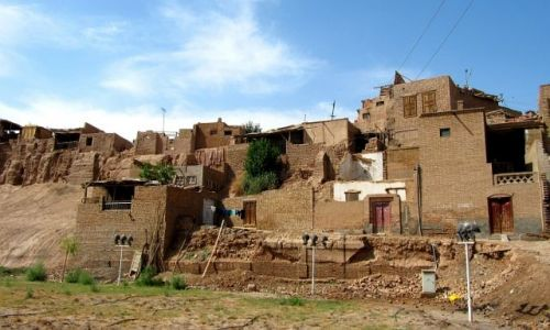 Zdjęcie CHINY / Kaszgar / stare miasto / stare miasto