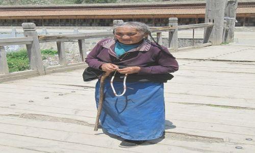 Zdjęcie CHINY / Xiahe / klasztor Labrang / pielgrzymka