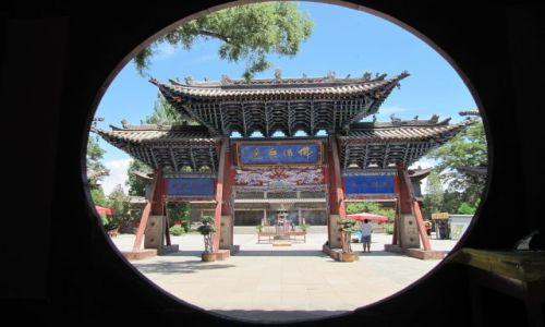 Zdjęcie CHINY / Zhange / światynia / świątynia