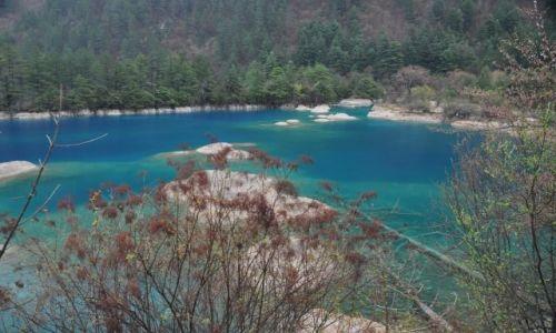 Zdjecie CHINY / Syczuan / Jiuzhaigo / W dolinie Jiuzhai II