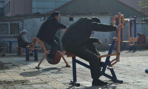 Zdjecie CHINY / Pekin / Pekin / Poranne ćwiczenia