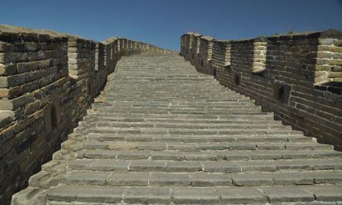 Zdjecie CHINY / Pekin / Mutianyu / Chinski Mur inaczej I