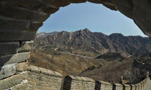 Zdjecie CHINY / Pekin / Mutianyu / Chinski Mur inaczej III