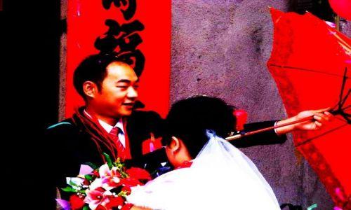 Zdjecie CHINY / Guangdong, Chiny / Yangchun / Wesele - Chiny