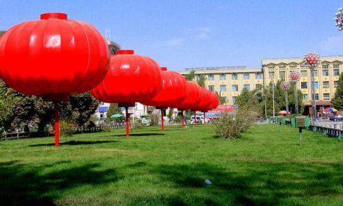 Zdjęcie CHINY / Karzgar / Karzgar / Lampiony