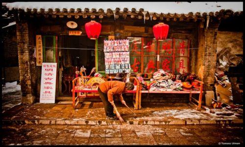 CHINY / - / Pingyao / po burzy w Pingyao