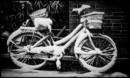 CHINY / - / Pingyao / zima przyszła