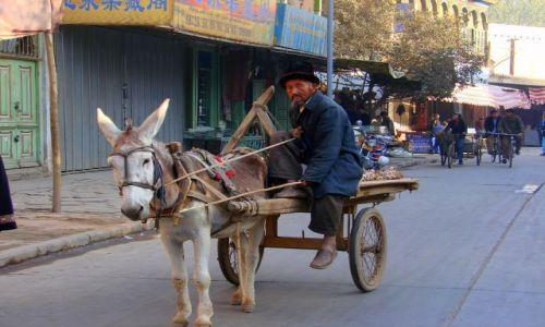 Zdjecie CHINY / Karzgar / Karzgar / Taxi