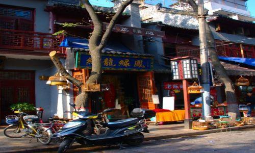 Zdjecie CHINY / Xian / Xian / sprzedawca ptaków