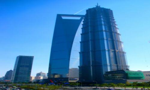 Zdjęcie CHINY / Szanghaj / Pudong / Otwieracz do butelek