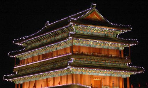 Zdjecie CHINY / brak / pekin / brama południowa Qianmen