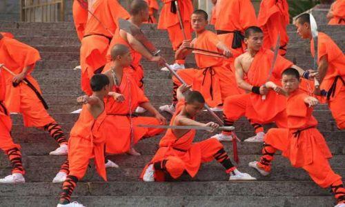 Zdjęcie CHINY / brak / Klasztor Shaolin / shaolin_3