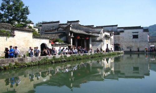CHINY / prowincja Anhui / Hongcun / wioska Hongcun