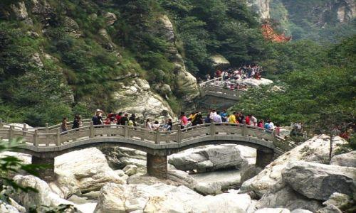 CHINY / prowincja Jianxi / Lu Shan / góry Lu