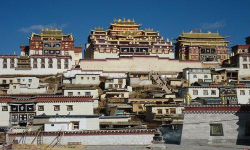 Zdjecie CHINY / Junnan (Yunnan) / Sumtsenling, okolice Shangri-La / Monastyr Sumtsenling