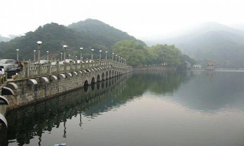 Zdjęcie CHINY / prowincja Jianxi / Lu Shan / jezioro Lulin