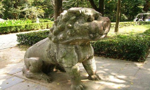 Zdjęcie CHINY / prowincja Jiangsu / Nankin / grobowiec cesarza Hongwu