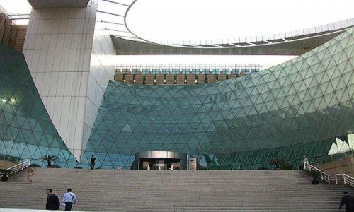 CHINY / prowincja Jiangsu / Nankin / biblioteka miejska