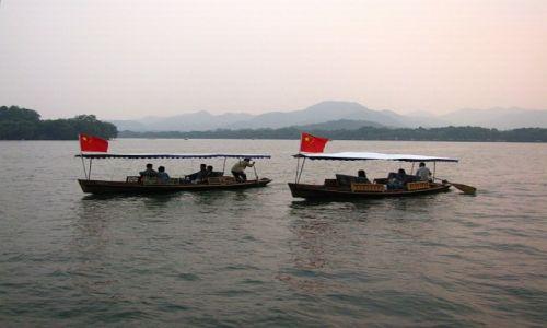 CHINY / prowincja Zhejiang / Hangzhou / Jezioro Zachodnie