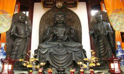 CHINY / prowincja Jiangsu / Hangzhou / świątynia Lingyin