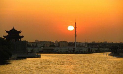 CHINY / prowincja Jiangsu / Suzhou / Wielki Kanał
