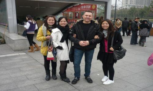 Zdjecie CHINY / płd/wschód / Szanghaj / Ja i Chiny