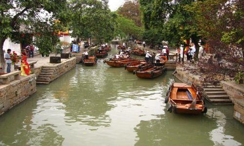 Zdjęcie CHINY / prowincja Jiangsu / Tongli / Tongli - miasto na wodzie