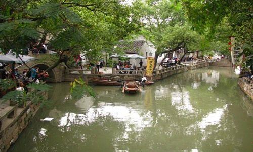 Zdjecie CHINY / prowincja Jiangsu / Tongli / Tongli - miasto na wodzie