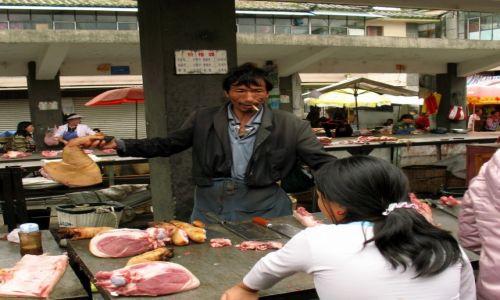 Zdjecie CHINY / Yunnan / Dali  / Dali market