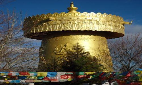 CHINY / Yunnan / Shangri-La (Zhongdian) / A propos młynków buddyjskich