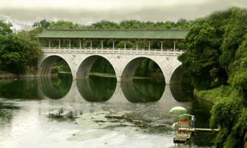 Zdjęcie CHINY / brak / Guilin / zaczarowany most