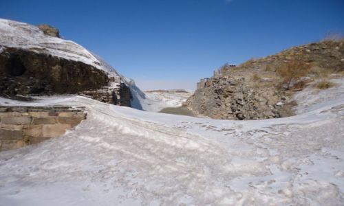 Zdjecie CHINY / Mongolia Wewnętrzna / okolice Shangdu / Zimowe Xanadu