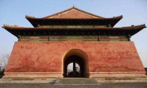 CHINY / Pekin / okolice Changping / Pawilon Stelli