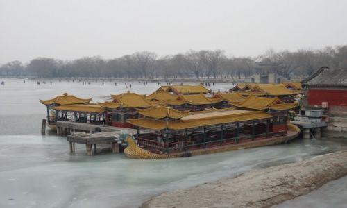 Zdjecie CHINY / Pekin / Pekin - Jezioro Kunming (Pałac Letni) / W oczekiwaniu na wiosnę