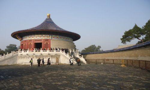 Zdjecie CHINY / Pekin / Świątynia Nieba / Ściana Echa