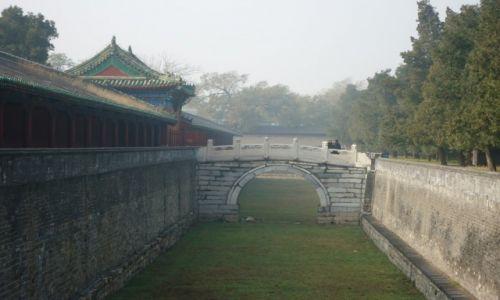 CHINY / Pekin / Świątynia Nieba / Pałac Abstynencji