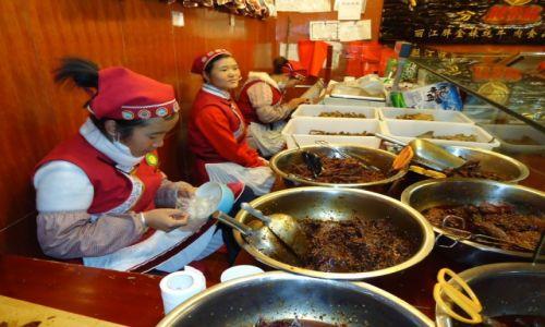 Zdjecie CHINY / Yunnan / Lijiang / Chińskie jedzenie (2)