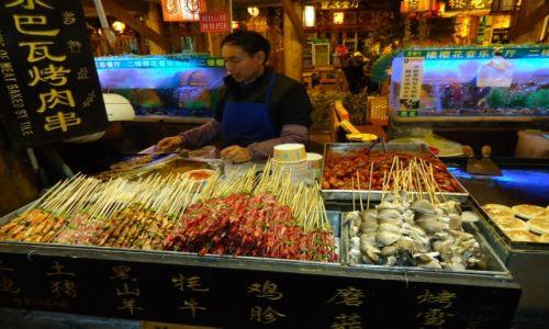 Zdjecie CHINY / Yunnan / Lijiang / Chińskie jedzenie (4)