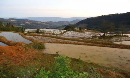 CHINY / Yunnan / okolice Xinjie / Tarasy Quanfuzhuang