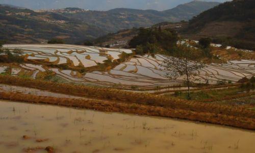 CHINY / Yunnan / okolice Xinjie / Tarasy Quanfuzhuang (2)