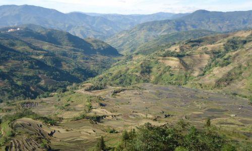 Zdjecie CHINY / Yunnan / okolice Xinjie / Tarasy ryżowe Laohuzuji (3)